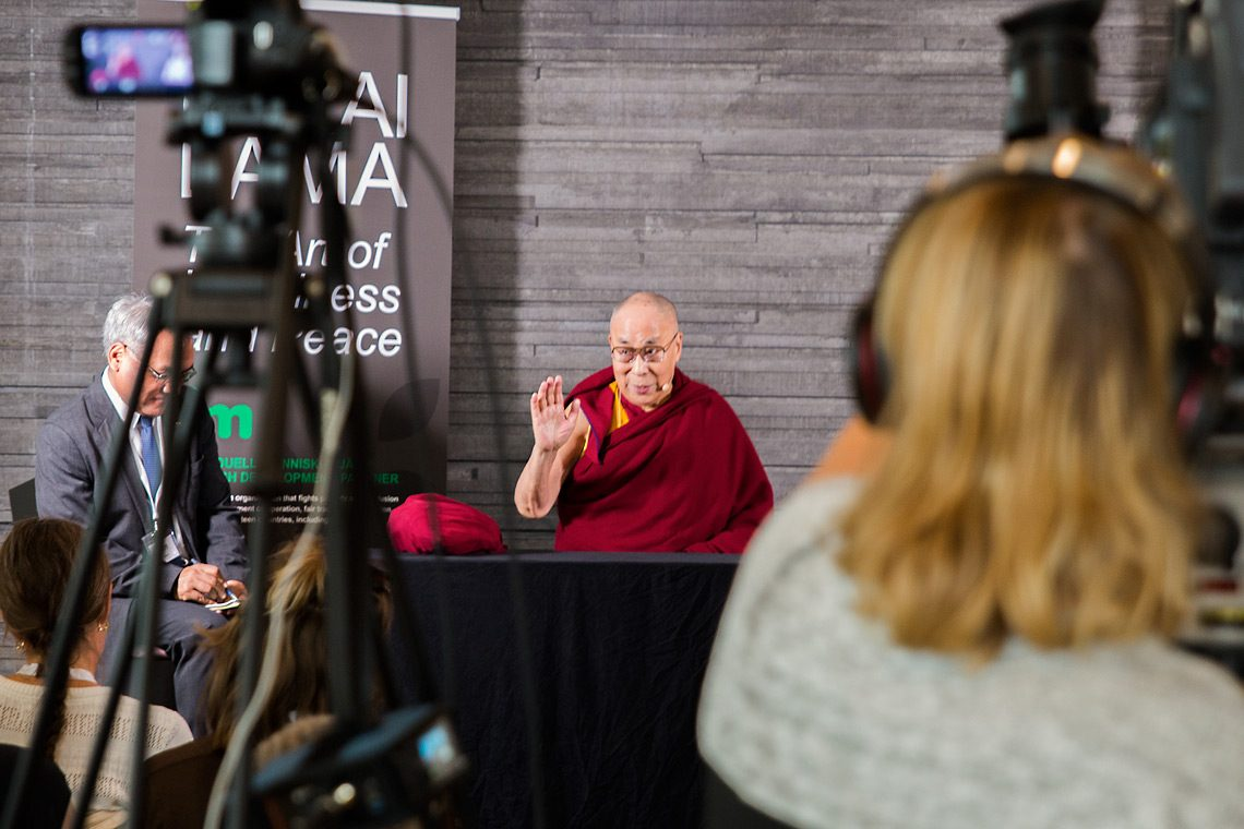 2018 09 12 Malmo G01 Dalai Lama Malmoe 12 Sept Photo Malin Kihlstrom 3